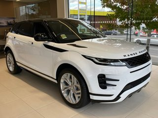 2021 Land Rover Range Rover Evoque L551 MY21 D200 R-Dynamic SE White 9 Speed Sports Automatic Wagon.