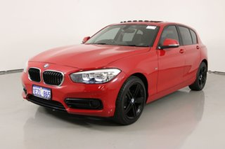 2016 BMW 118i F20 LCI Sport Line Red 8 Speed Automatic Hatchback.
