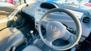 2006 Toyota Yaris NCP90R YR Black 5 Speed Manual Hatchback