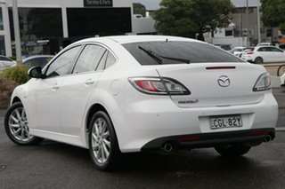 2012 Mazda 6 GH1052 MY12 Touring White 5 Speed Sports Automatic Hatchback.
