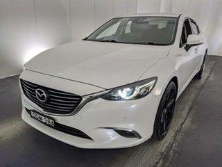 2016 Mazda 6 GJ1022 Touring SKYACTIV-Drive White 6 Speed Sports Automatic Sedan.