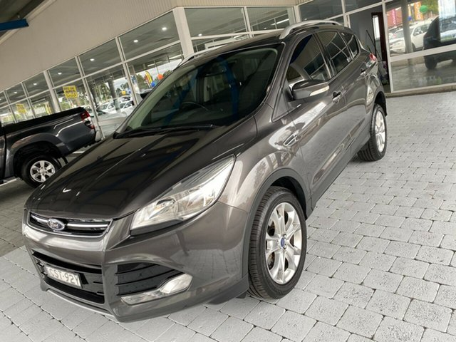 Used Ford Kuga Trend Taree, 2015 Ford Kuga Trend Grey Sports Automatic Dual Clutch Wagon