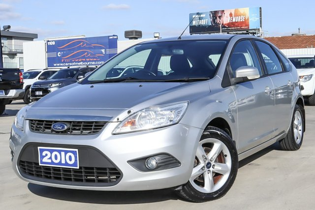 Used Ford Focus LV LX Coburg North, 2010 Ford Focus LV LX Silver 4 Speed Sports Automatic Hatchback