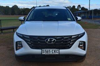 2021 Hyundai Tucson NX4.V1 MY22 (FWD) White Cream 6 Speed Automatic Wagon.