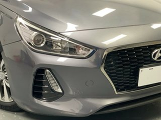 2017 Hyundai i30 PD MY18 Active Iron Gray 6 Speed Sports Automatic Hatchback
