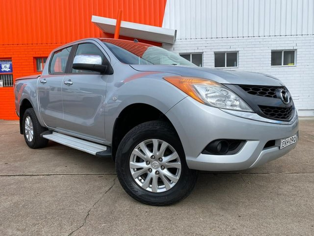 Used Mazda BT-50 UP0YF1 XTR Rutherford, 2013 Mazda BT-50 UP0YF1 XTR Silver 6 Speed Sports Automatic Utility