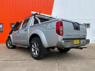 2009 Nissan Navara D40 Titanium Silver 6 Speed Manual Utility