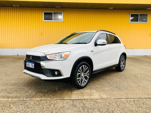 Used Mitsubishi ASX XC MY17 LS Canning Vale, 2016 Mitsubishi ASX XC MY17 LS White 6 Speed Sports Automatic Wagon
