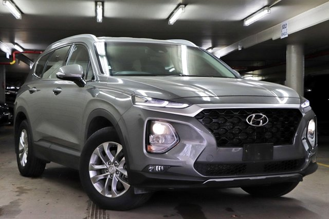 Used Hyundai Santa Fe DM5 MY18 Active Toowoomba, 2018 Hyundai Santa Fe DM5 MY18 Active Grey 6 Speed Sports Automatic Wagon
