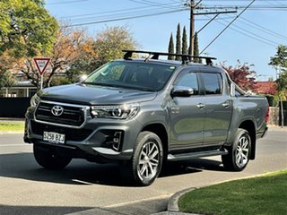 2019 Toyota Hilux GUN126R SR5 Double Cab Grey 6 Speed Sports Automatic Utility.
