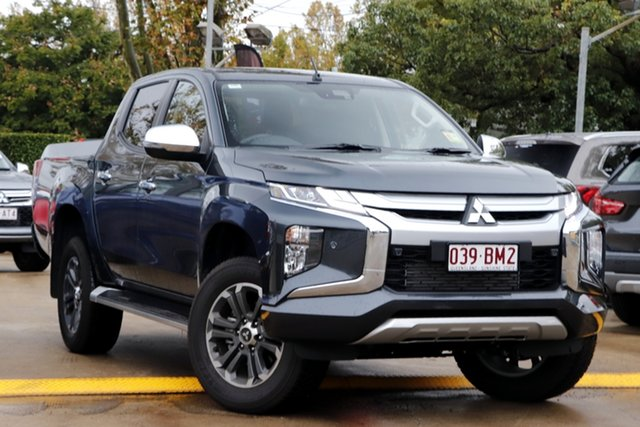 Demo Mitsubishi Triton MR MY21 GLS Double Cab Toowoomba, 2020 Mitsubishi Triton MR MY21 GLS Double Cab Graphite Grey 6 Speed Sports Automatic Utility