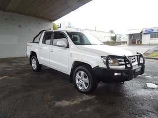 2018 Volkswagen Amarok 2H MY18 TDI550 4MOTION Perm Sportline Candy White 8 Speed Automatic Utility.