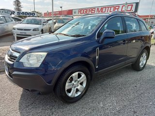 2010 Holden Captiva CG MY10 5 (FWD) Blue 5 Speed Manual Wagon