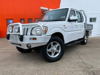 2010 Mahindra Pik-Up S5 MY10 White 5 Speed Manual Cab Chassis.