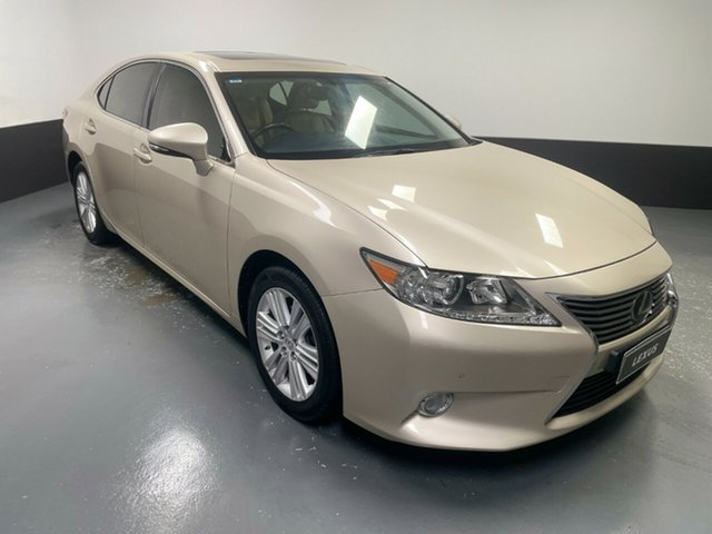 Used Lexus ES GSV60R ES350 Luxury Hamilton, 2014 Lexus ES GSV60R ES350 Luxury Beige 6 Speed Sports Automatic Sedan