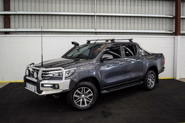 Used Toyota Hilux GUN126R SR5 Double Cab Canning Vale, 2016 Toyota Hilux GUN126R SR5 Double Cab Grey 6 Speed Sports Automatic Utility