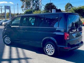 2021 Volkswagen Caravelle T6.1 MY21 TDI340 LWB DSG Trendline Black 7 Speed.