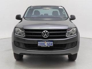 2017 Volkswagen Amarok 2H MY16 TDI340 (4x2) Grey 6 Speed Manual Dual Cab Utility.