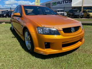 2010 Holden Commodore VE II SV6 Orange 6 Speed Sports Automatic Sedan