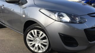 2010 Mazda 2 DE10Y1 Neo Silver 4 Speed Automatic Hatchback.