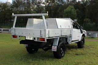 2012 Holden Colorado RG MY13 LX Crew Cab White 5 Speed Manual Cab Chassis