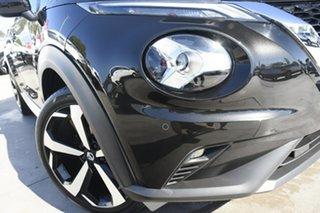2021 Nissan Juke F16 ST-L DCT 2WD Pearl Black 7 Speed Sports Automatic Dual Clutch Hatchback.