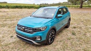 2021 Volkswagen T-Cross C1 MY21 85TSI DSG FWD Life Makena Turquoise Metallic 7 Speed