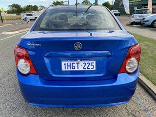 2012 Holden Barina TM MY13 CD Blue 6 Speed Automatic Sedan.
