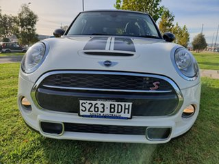 2014 Mini Hatch F56 Cooper S White 6 Speed Manual Hatchback