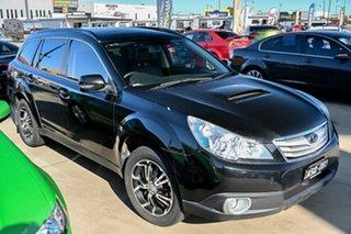2011 Subaru Outback B5A MY11 2.0D AWD Premium Black 6 Speed Manual Wagon.