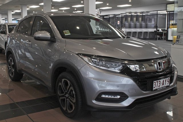 Demo Honda HR-V MY21 VTi-LX Mount Gravatt, 2021 Honda HR-V MY21 VTi-LX Lunar Silver 1 Speed Constant Variable Hatchback