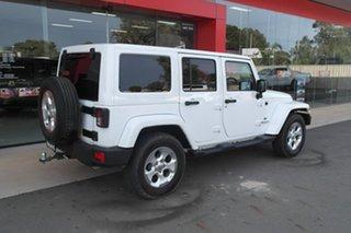 2015 Jeep Wrangler JK MY2015 Overland White 5 Speed Automatic Hardtop