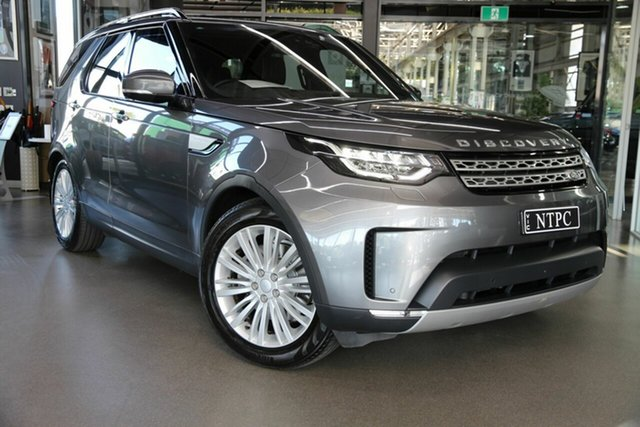 Used Land Rover Discovery Series 5 L462 MY18 HSE Luxury North Melbourne, 2018 Land Rover Discovery Series 5 L462 MY18 HSE Luxury Grey 8 Speed Sports Automatic Wagon