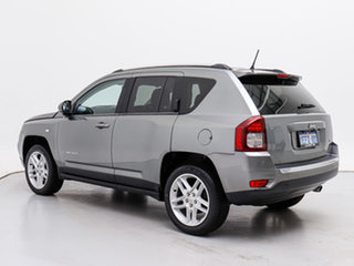 2013 Jeep Compass MK MY12 Limited (4x4) Grey Continuous Variable Wagon