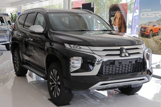 2021 Mitsubishi Pajero Sport QF MY21 GLS Black Mica 8 Speed Sports Automatic Wagon.