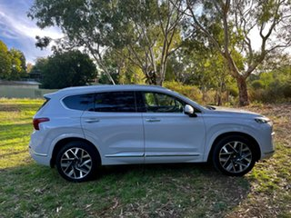 2020 Hyundai Santa Fe Tm.v3 MY21 Highlander CRDi (AWD) Glacier White 8 Speed Auto Dual Clutch Wagon