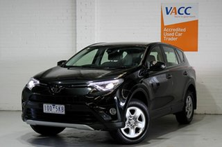 2017 Toyota RAV4 ASA44R GX AWD Black 6 Speed Sports Automatic Wagon