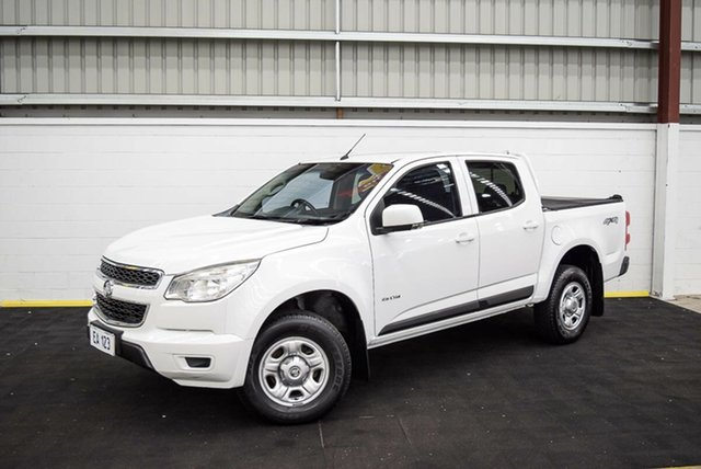 Used Holden Colorado RG MY14 LX Crew Cab Canning Vale, 2014 Holden Colorado RG MY14 LX Crew Cab White 6 Speed Sports Automatic Utility
