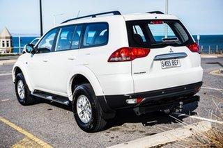 2014 Mitsubishi Challenger PC (KH) MY14 White 5 Speed Sports Automatic Wagon.