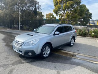 2013 Subaru Outback B5A MY13 2.0D Lineartronic AWD Silver 7 Speed Constant Variable Wagon.