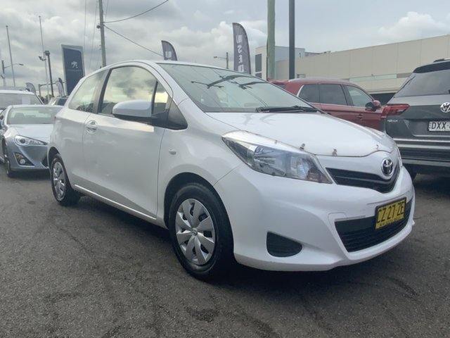 Used Toyota Yaris NCP130R YR Cardiff, 2011 Toyota Yaris NCP130R YR White 4 Speed Automatic Hatchback