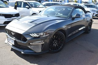 2019 Ford Mustang FN 2019MY GT Grey 10 Speed Sports Automatic Convertible.