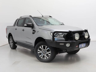 2016 Ford Ranger PX MkII Wildtrak 3.2 (4x4) Grey 6 Speed Automatic Dual Cab Pick-up.