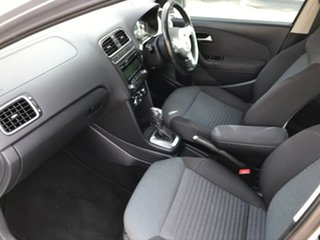 2010 Volkswagen Polo 6R 66TDI DSG Comfortline Silver 7 Speed Sports Automatic Dual Clutch Hatchback