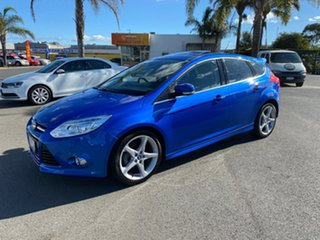 2013 Ford Focus LW MkII Titanium Blue Sports Automatic Dual Clutch Hatchback.