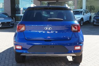 2021 Hyundai Venue QX.V3 MY21 Elite Blue 6 Speed Automatic Wagon