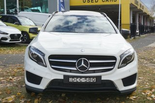 2015 Mercedes-Benz GLA-Class X156 805+055MY GLA250 DCT 4MATIC White 7 Speed.