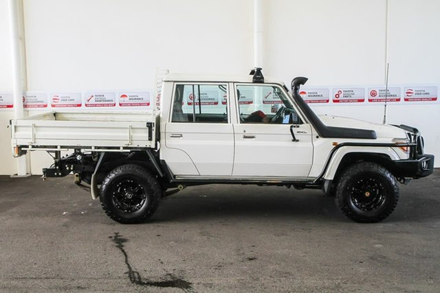 Pre-Owned Toyota Landcruiser VDJ79R MY12 Update GXL (4x4) Myaree, 2015 Toyota Landcruiser VDJ79R MY12 Update GXL (4x4) French Vanilla 5 Speed Manual
