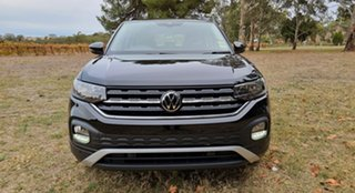 2021 Volkswagen T-Cross C1 MY21 85TSI DSG FWD Life Deep Black Pearl Effect 7 Speed.