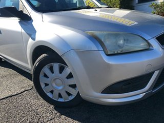 2008 Ford Focus LT CL Silver 5 Speed Manual Sedan.